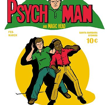Psychman and Magic Head by JKTees