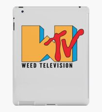 Weed TV iPad Case/Skin