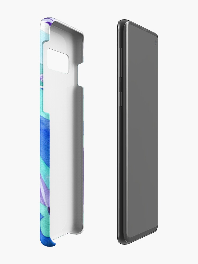 Alternate view of Polynesian dolphins swimming in Moorea Case & Skin for Samsung Galaxy