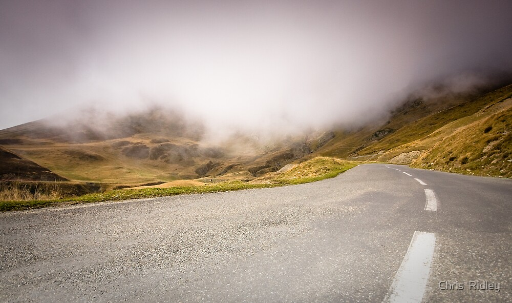 The long road home - Pyranees by Chris  Ridley