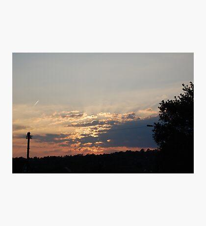 Sunrise over Sea Mills Photographic Print