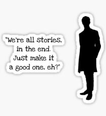 Doctor Who 11th Doctor Quote  Sticker