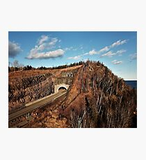 Silver Creek Tunnels  Photographic Print