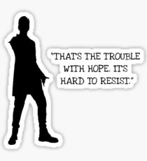 Doctor Who 12th Doctor Quote Sticker