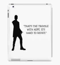Doctor Who 12th Doctor Quote iPad Case/Skin