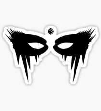 Lexa Warpaint and Headpiece Sticker