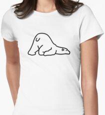 Polar bear Women's Fitted T-Shirt