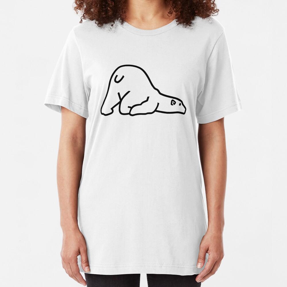 Oso polar Camiseta ajustada