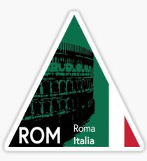 Roma, Italy Sticker