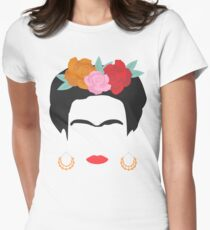 Kahlo Tailliertes T-Shirt