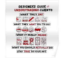 Designer's Guide to Understanding Clients Poster