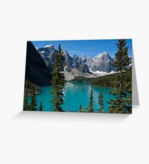 Banff National Park, Moraine Lake Greeting Card