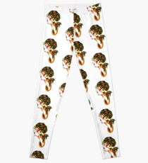 Femme Lady Gypsy mignon tatouage traditionnel Spitshade Leggings