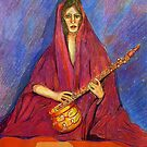 The Sitar by Sherryll  Johnson