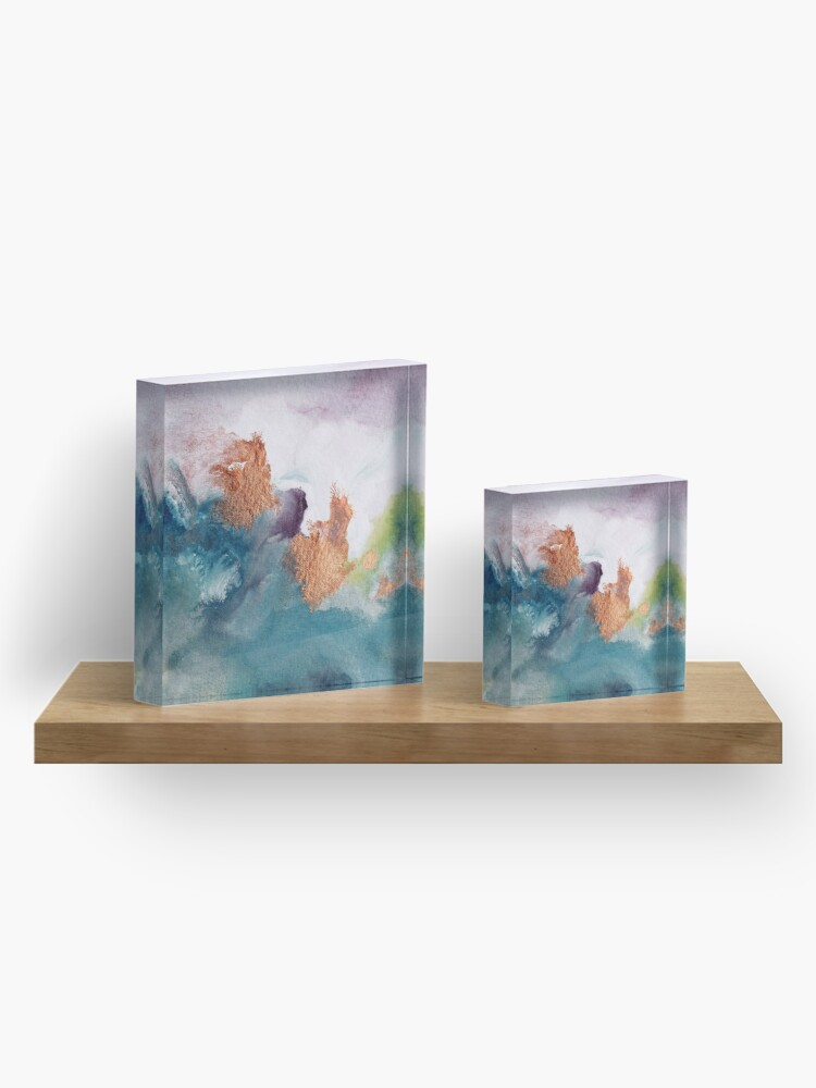 Alternate view of Abstract Birth Acrylic Block