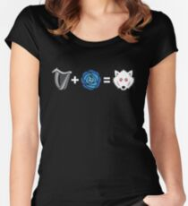 R+L=J Women's Fitted Scoop T-Shirt