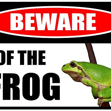 Beware Of The Frog by Neon2610