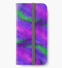 Purple Waves, Purple Waves iPhone Wallet/Case/Skin