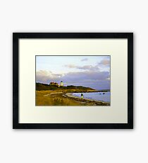 Solitude At Nobska  Framed Print
