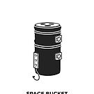 Space Bucket by marianabeldi