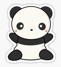 Hugging Panda Stickers Redbubble
