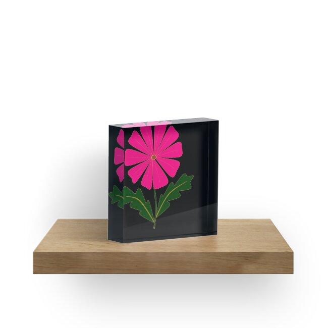 My Big Pink Flower Design by Judy Snyder