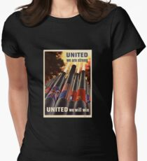 United Women's Fitted T-Shirt