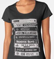 Hip Hop Tapes Women's Premium T-Shirt