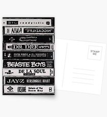 Postales Cintas Hip Hop