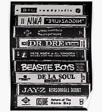 Hip Hop Tapes Poster
