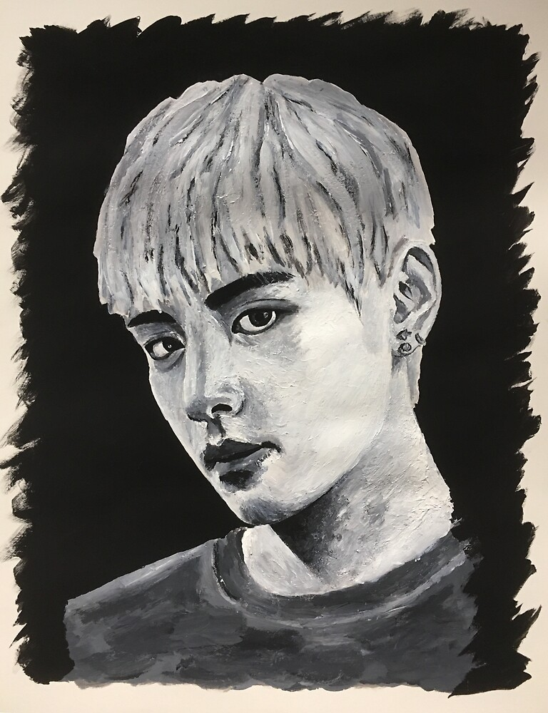 V Taehyung BTS - Painting by alternatvnoodle