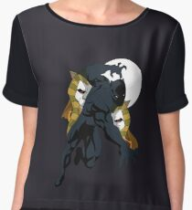 Panther God and King Chiffon Top