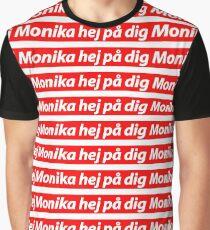 PewDiePie - 'Hey Monika' Graphic T-Shirt