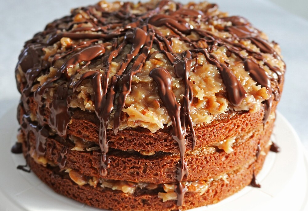 German Chocolate Cake I by Michiale