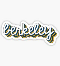 Berkeley Chill Sticker