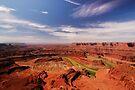 The Dead Horse Point State Park, Utah, USA by Daniel H Chui