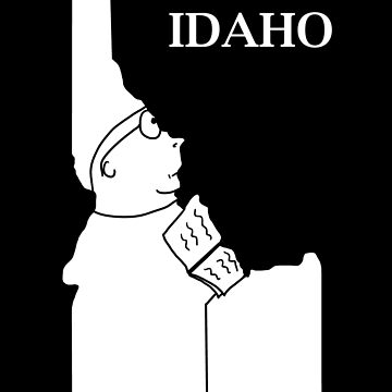 A funny map of Idaho by funnymaps