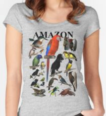 Birds of the Amazon Women's Fitted Scoop T-Shirt