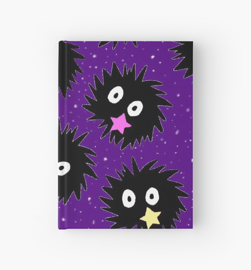 sootsprite books and clock by Kristen Hallas