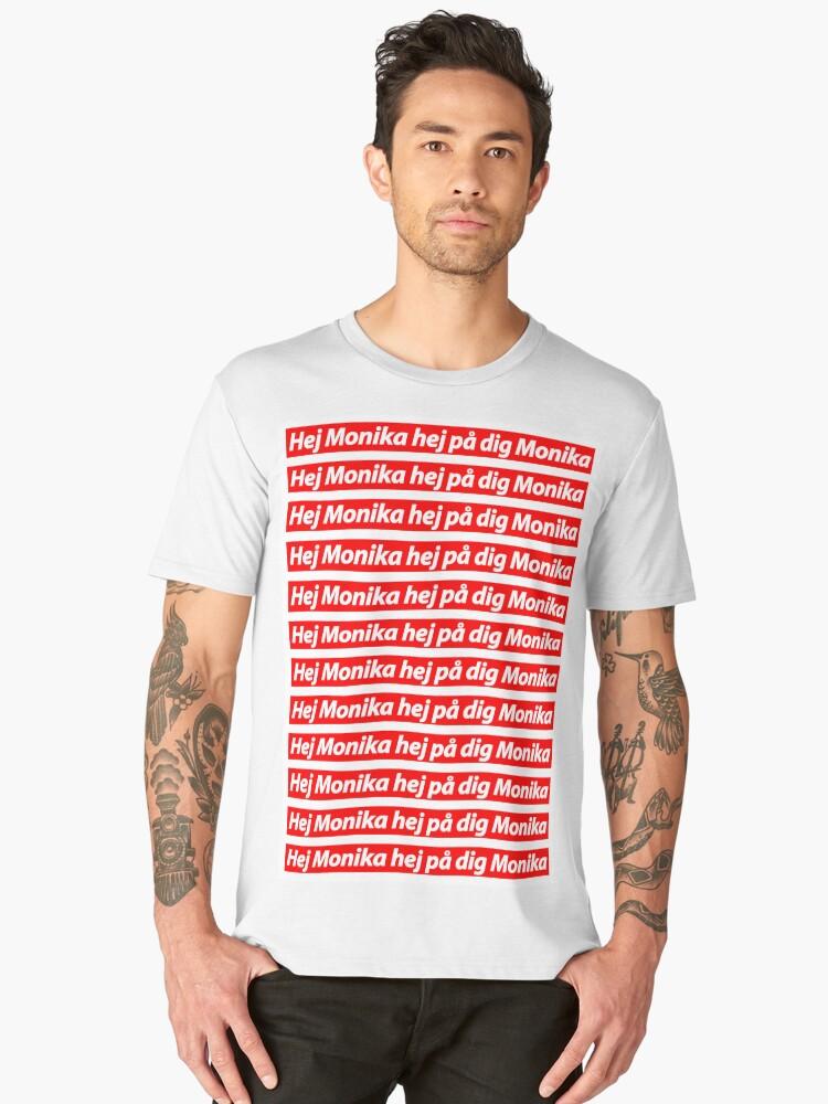 PewDiePie - Hey Monika V.1. Men's Premium T-Shirt Front