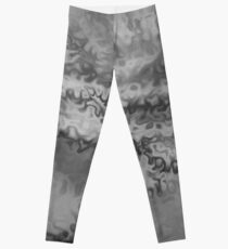 Blur of Black & White Leggings