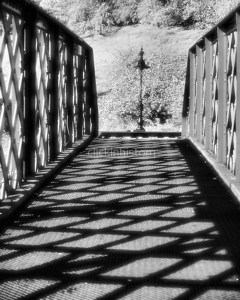 Light at the end of the bridge. by clickinhistory