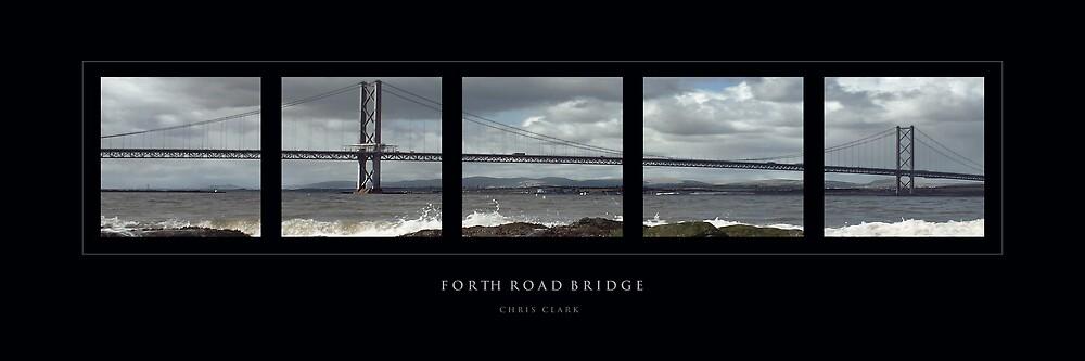 Forth Road Bridge by Chris Clark