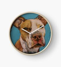 American Pit Bull Clock