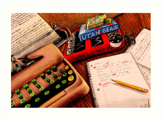 A Writer's Tools by Charli Varboncoeur