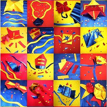 Origami Fun Paper Art by JoeDesignShop