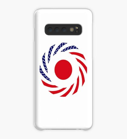 Japanese American Multinational Patriot Flag Series Case/Skin for Samsung Galaxy