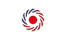 Japanese American Multinational Patriot Flag Series by Carbon-Fibre Media
