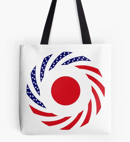 Japanese American Multinational Patriot Flag Series Tote Bag