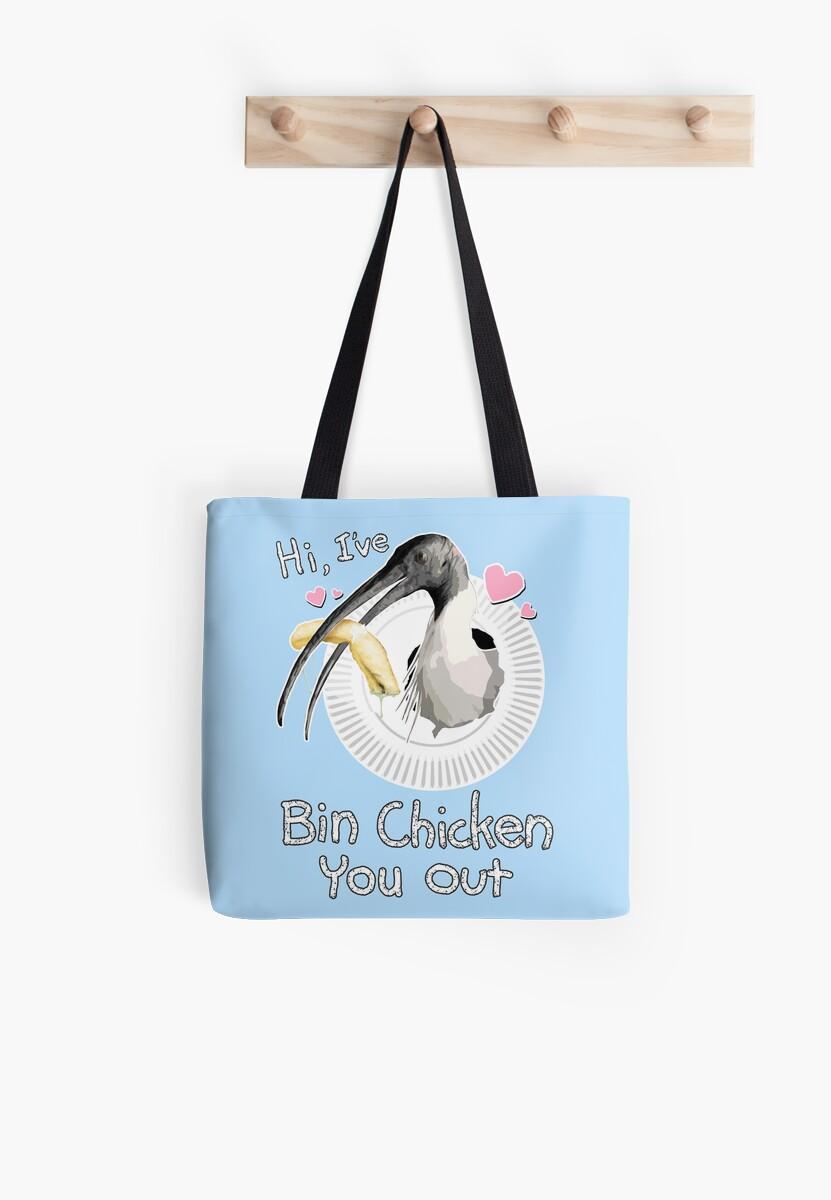 Bin Chicken You Out (blue) by MaratusFunk